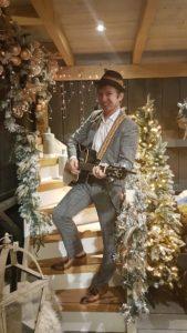Kerstborrel, kerstdiner of nieuwjaarsreceptie met live muziek