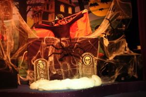 Halloween feest met zanger/gitarist, dj, entertainer & decoratie