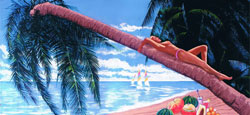zanger/gitarist, dj en decoratie voor je tropische feest